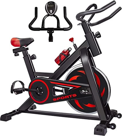 Stationary Exercise Bike Bicycle Indoor Cycling Cardio Fitness Workout Gym