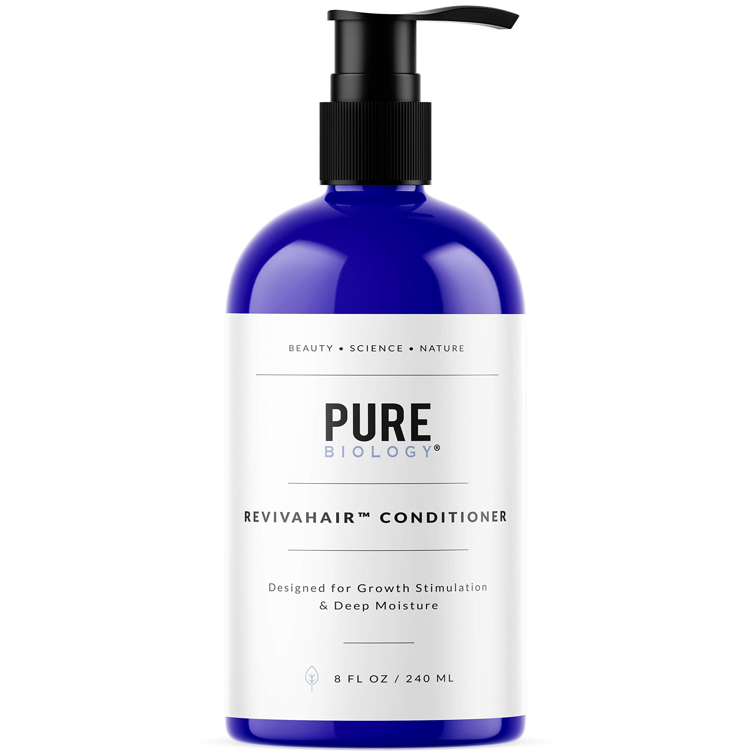 Pure Biology RevivaHair Conditioner with Procapil For Growth Stimulation & Deep Moisture, 8fl oz/240ml by Pure Biology