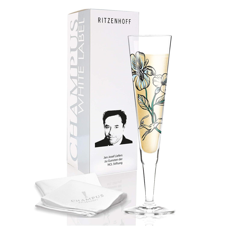 RITZENHOFF White Label Champagnerglas Mehrfarbig Glas 7 x 7 x 24 cm