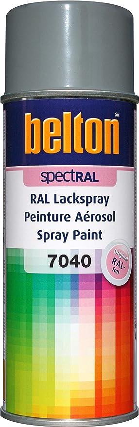 Belton Spectral Lackspray Ral 7040 Fenstergrau Glänzend 400 Ml Profi Qualität Baumarkt