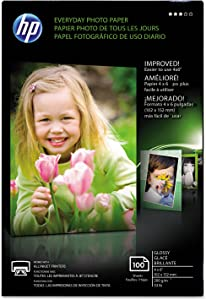 "HP CR759A HP Photo Paper, 4""x6"", 100Sht/PK, Glossy/White"