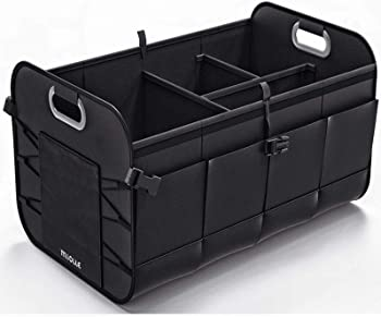 Miolle Auto Trunk Organizer for Small and Large Cars