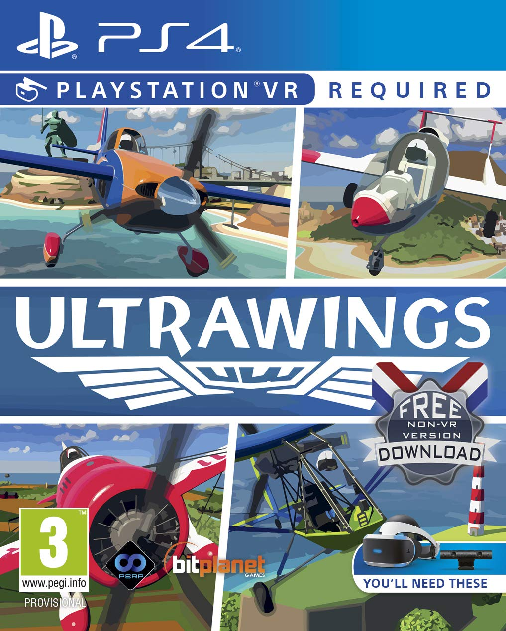 Ultrawings (PSVR) - PlayStation 4 [Importación inglesa ...