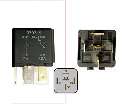 Superb 5 Pin Changeover Relay Wiring Better Wiring Diagram Online Wiring 101 Capemaxxcnl