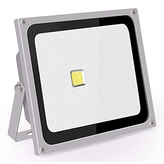 Proyector LED Exterior 50W Blanco Frio Foco Led IP65 Roleadro Led Reflector Lights 220v 6500K para Interior Iluminación En Casa de Jardín