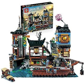 Amazon.com : Building Block Ninja Series Movies Compatible ...