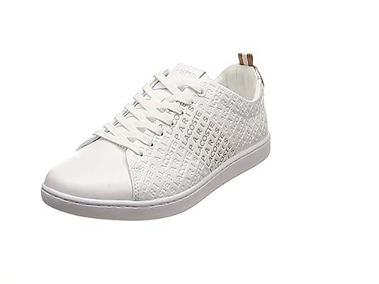 Lacoste Carnaby EVO Mujer Zapatillas Blanco