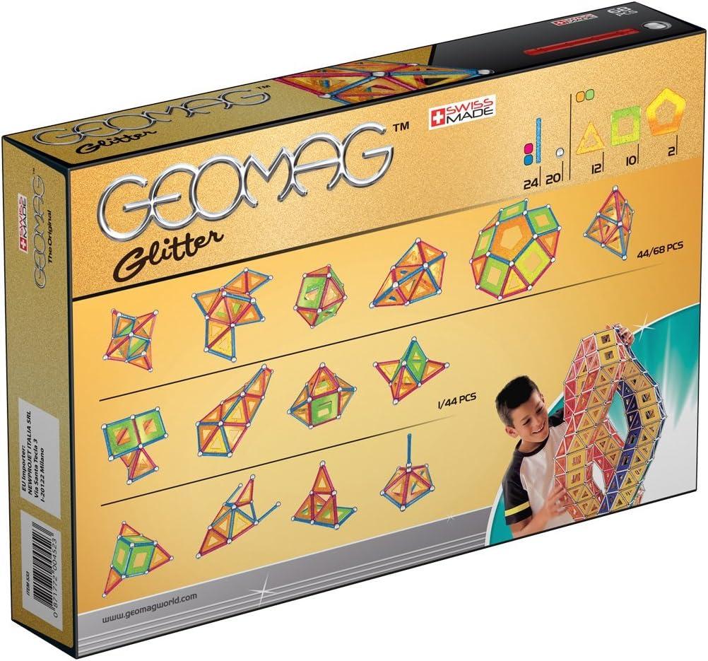 Geomag- Classic Glitter Construcciones magnéticas y Juegos ...