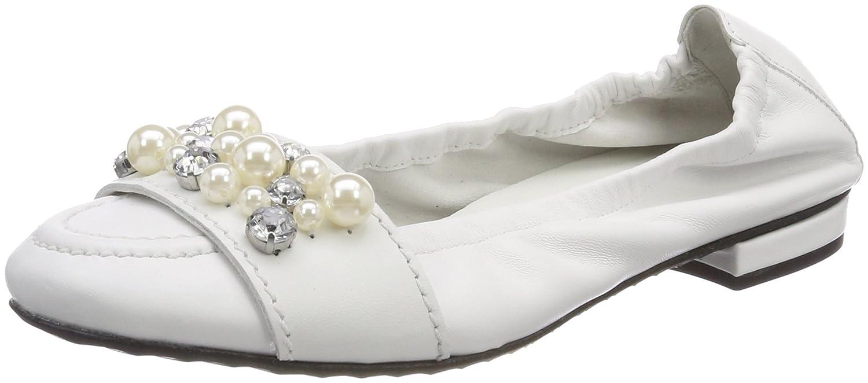 Kennel und Schmenger Ballerinas Damen Malu Geschlossene Ballerinas Schmenger Weiß (Weiß/Pearl) ca226b