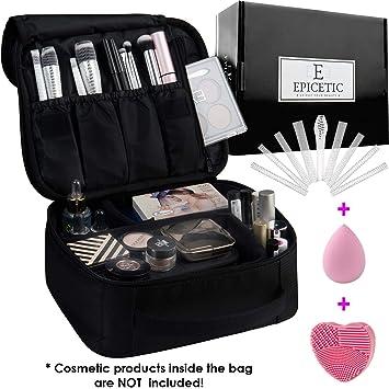 Amazon.com: Portátil bolsa de maquillaje: Beauty