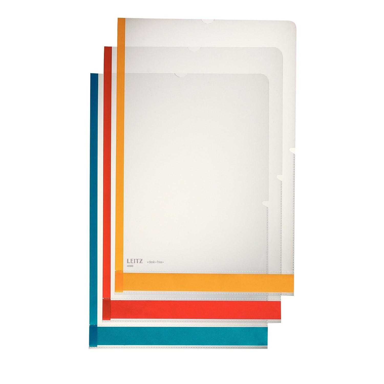 Leitz 40803000 Desk Free Premium Busta Multicolore