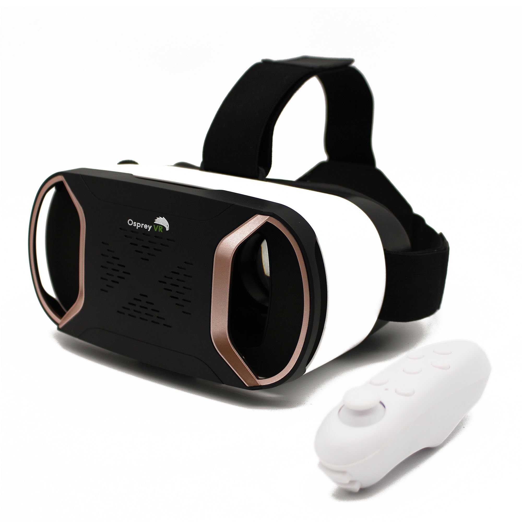 VR Headset with Wireless Remote - Virtual Reality Headset Goggles For iPhone Samsung Android Phone - Wireless Augmented Reality 3D Experience - Best Kids' Phone Accessories - Blue Light Protection