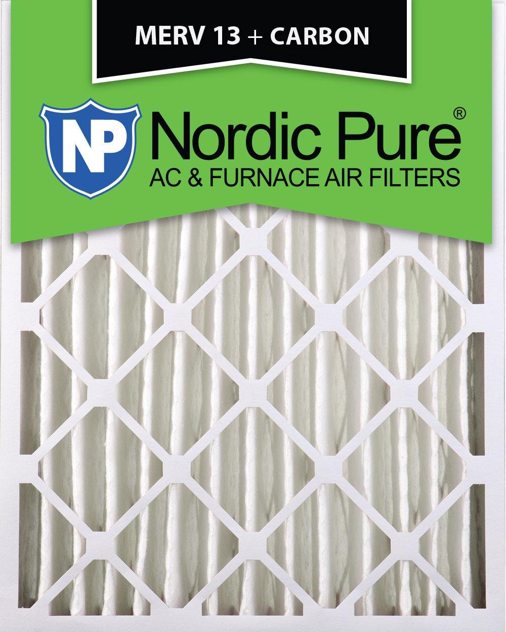 Nordic Pure 20x25x4 3 5 8 Actual Depth Merv 13 Plus