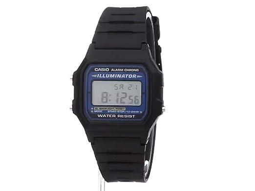 Casio Mens F105W-1A Illuminator Sport Watch