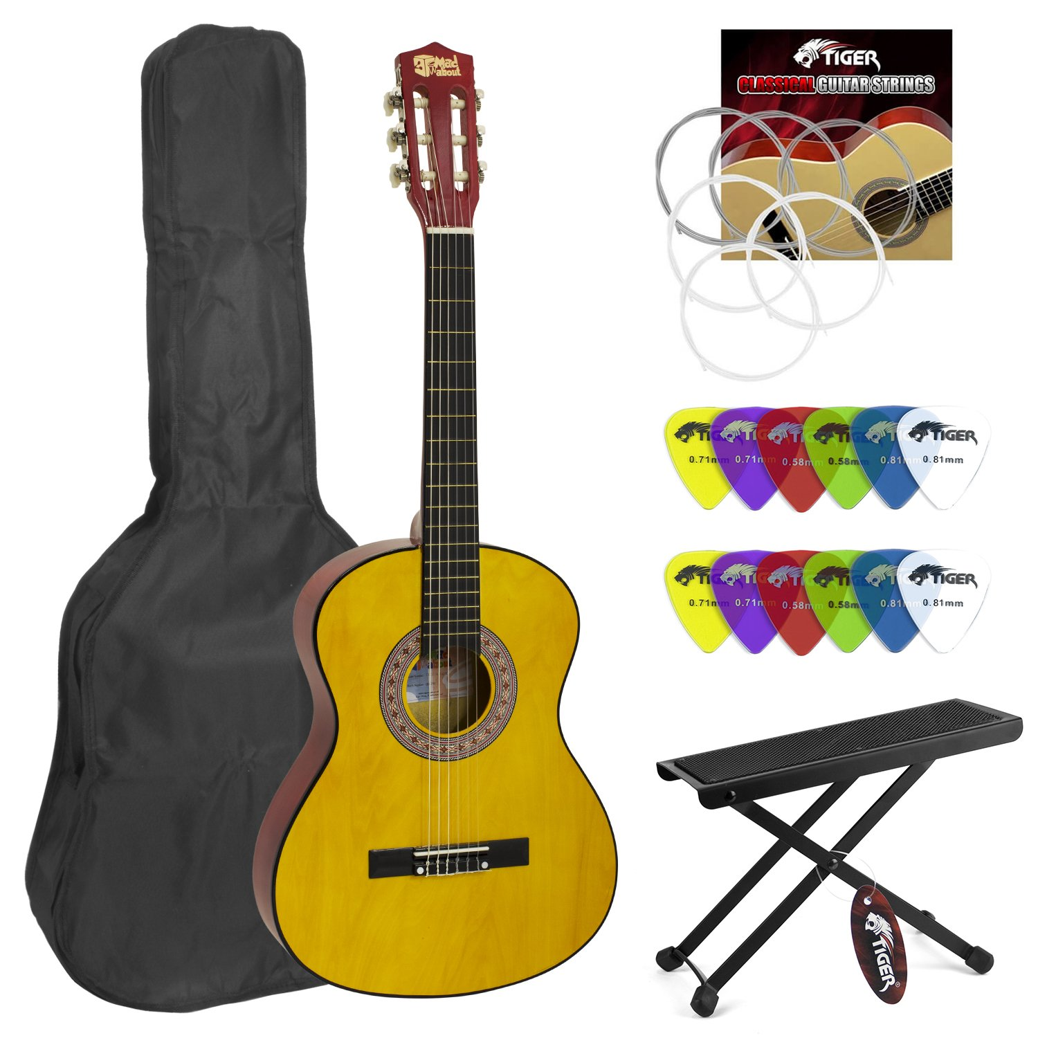 Mad About 1/2 Childrens Classical Guitar CLG1-12-NB