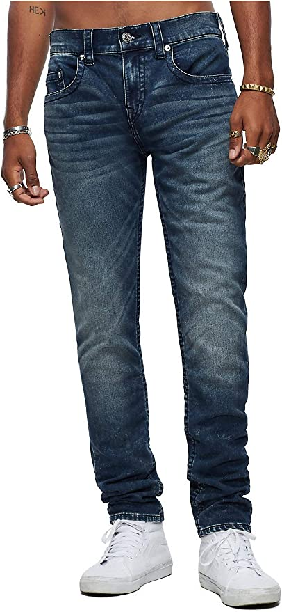 True Religion Men's Rocco Skinny Fit Jeans: Amazon.co.uk
