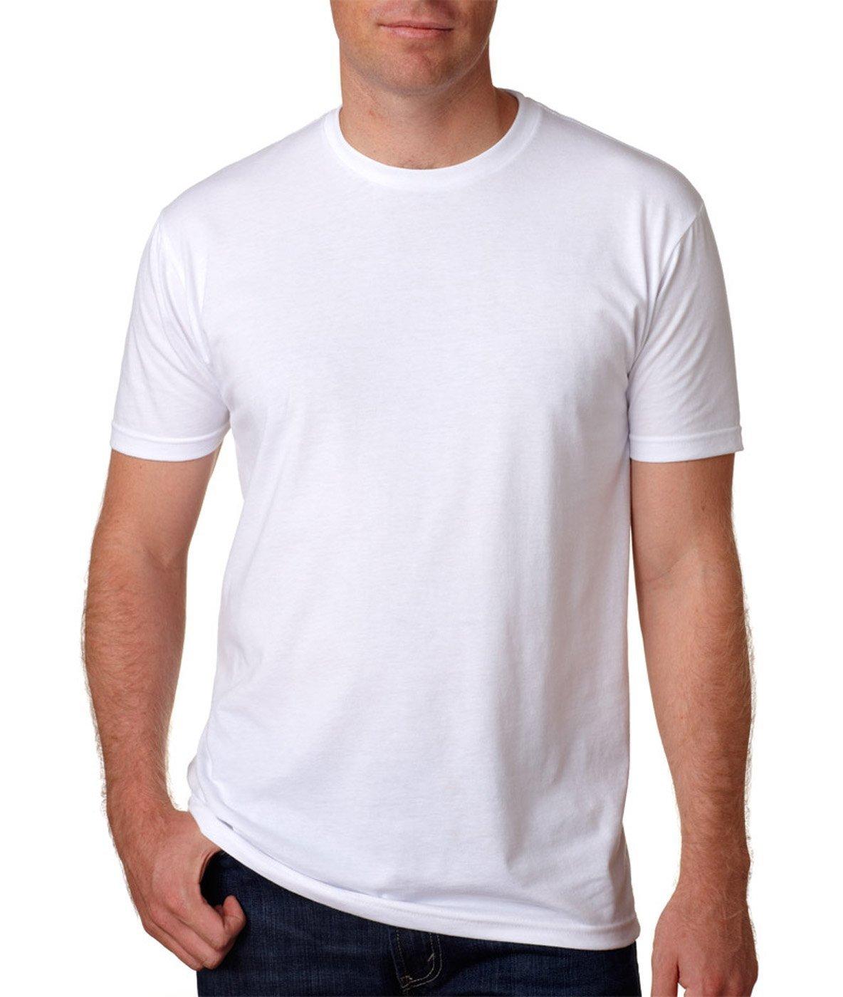 Next Level Apparel メンズ CVC クルーネック ジャージ Tシャツ B07F6V2FN3 X-Large 5-white_shirts 5-white_shirts X-Large