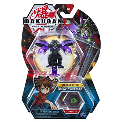 Bakugan Ultra - Darkus Hyper Dragonoid - 3-inch Tall Collectible Transforming Creature, for Ages 6 and Up - Wave 6: Toys & Games