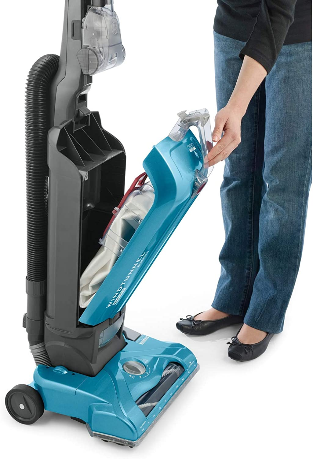 UH30301 Blue Hoover WindTunnel T-Series Tempo Bagged Upright ...