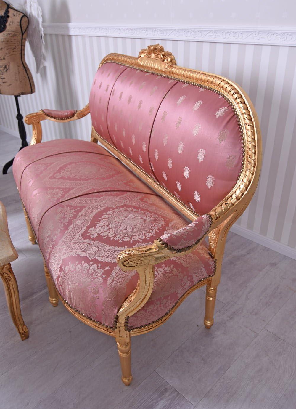 Sitzmöbel Sitzgarnitur XXL Barockmöbel Salongarnitur Sitzgruppe Sofagarnitur