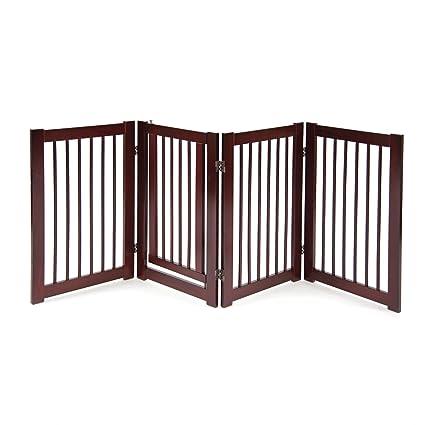 Superbe Primetime Petz 360 Configurable Dog Gate With Door   Indoor Freestanding  Walk Through Wood Pet Gate