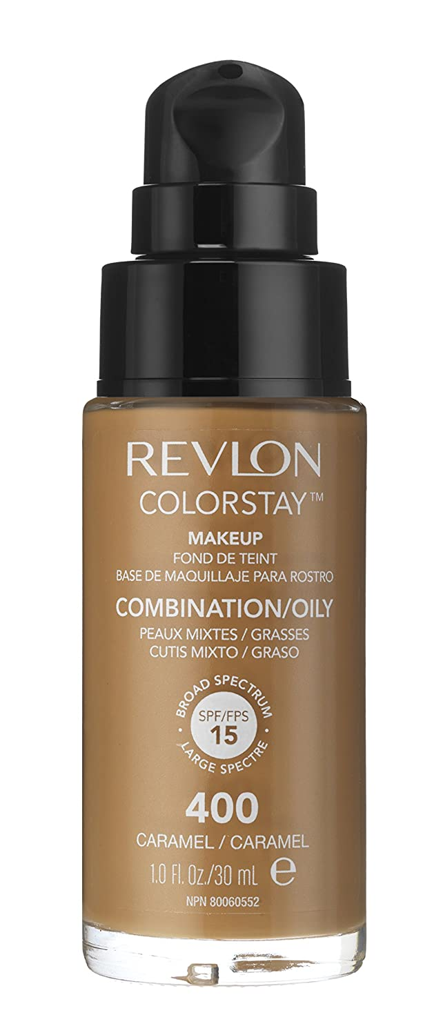Amazon.com : Revlon Colorstay Pump Liquid Foundation, 400 Caramel ...