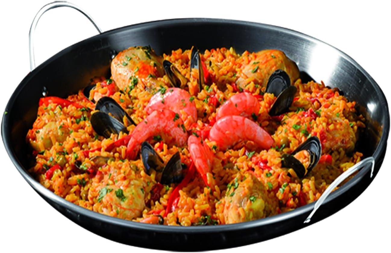 Campingaz 2000015104 Paellera para Modulo Culinario, Negro, 35.5x8.5x36.15 cm