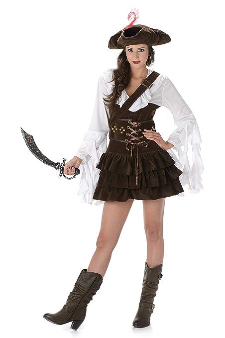 Disfraz de pirata mujer: Amazon.es: Juguetes y juegos