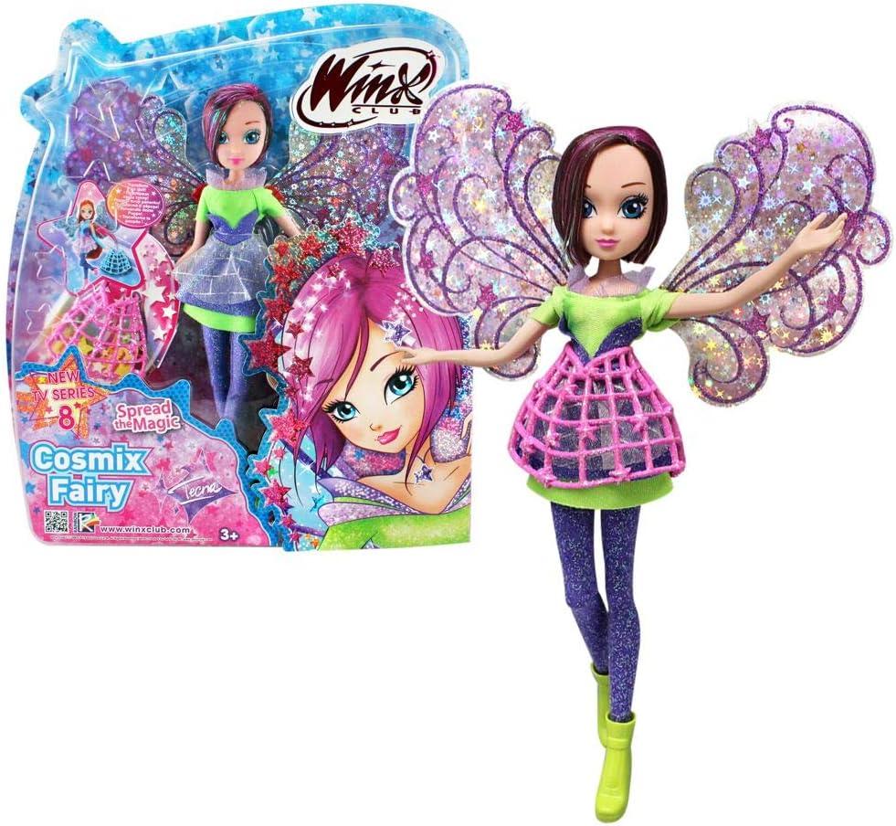 Winx Club Tecna   Cosmix Fairy Bambola con Ali Olografiche Mobili