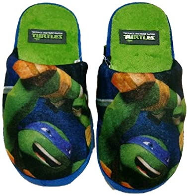 Teenage Mutant Ninja Turtles Pantuflas Zapatillas Verde ...