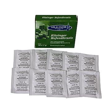 Arauner E Tabletas de nutrientes de la levadura, 10x0,8 g: Amazon.es: Hogar
