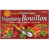 Marigold Organic Swiss Vegetable Bouillon Cube (8x10.5g) Red 有機スイス野菜のブイヨンをマリーゴールド( 8X10.5G )赤