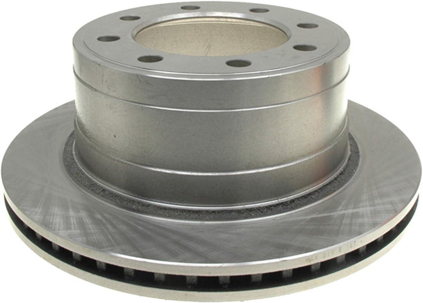 ACDelco 18A1592A Advantage Non-Coated Rear Disc Brake Rotor