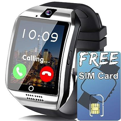 Amazon.com: Reloj inteligente para teléfonos Android ...