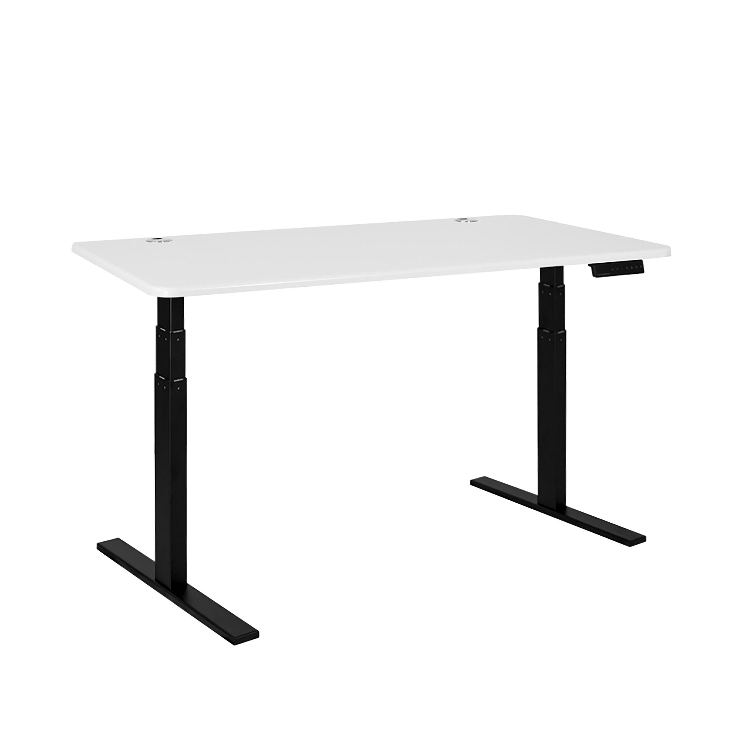 Autonomous A2-A12 Height-Adjustable Standing Desk with White Classic Top by Autonomous