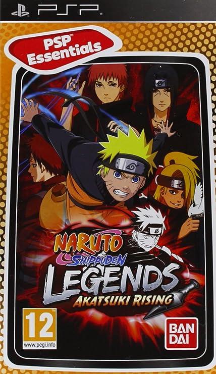 Naruto Shippuden: Legends Akatsuki Rising - Essentials ...