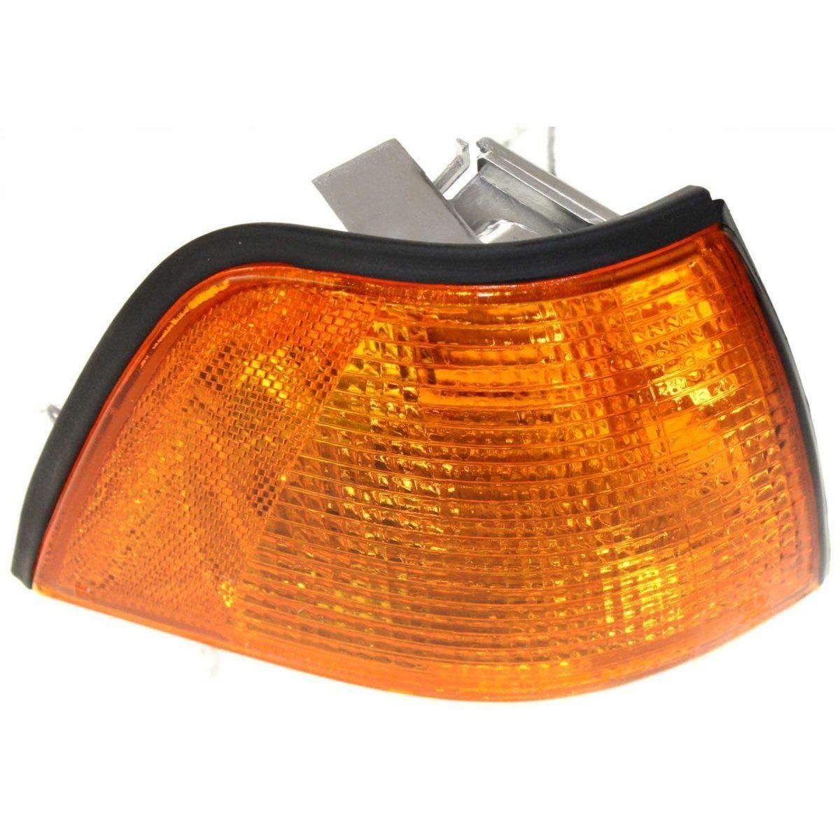 Lens and Housing BM2521102 63138353280 New Right Passenger Side Corner Lamp For 1995-1999 BMW 3-Series