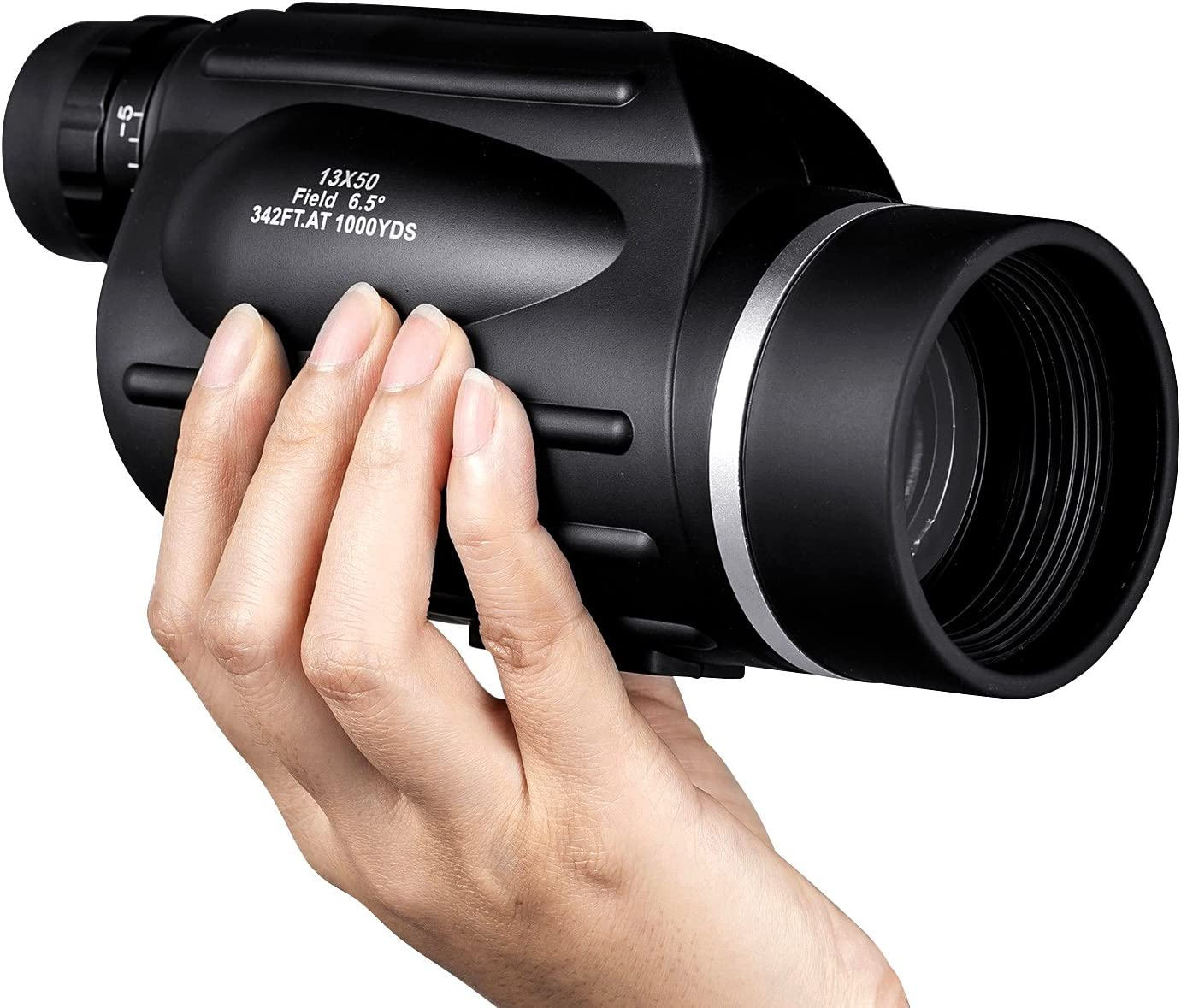 HUTACT Telescopio Monocular, Lente óptica 13X50, Capa múltiple Que ...