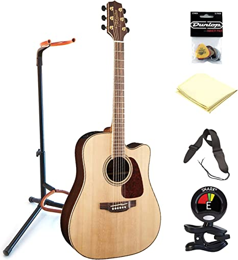 Correa para guitarra TAKAMINE gd93ce-nat 6 soportes de guitarra ...