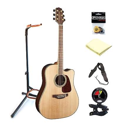 Correa para guitarra TAKAMINE gd93ce-nat 6 soportes de guitarra eléctrica acústica de cuerdas de