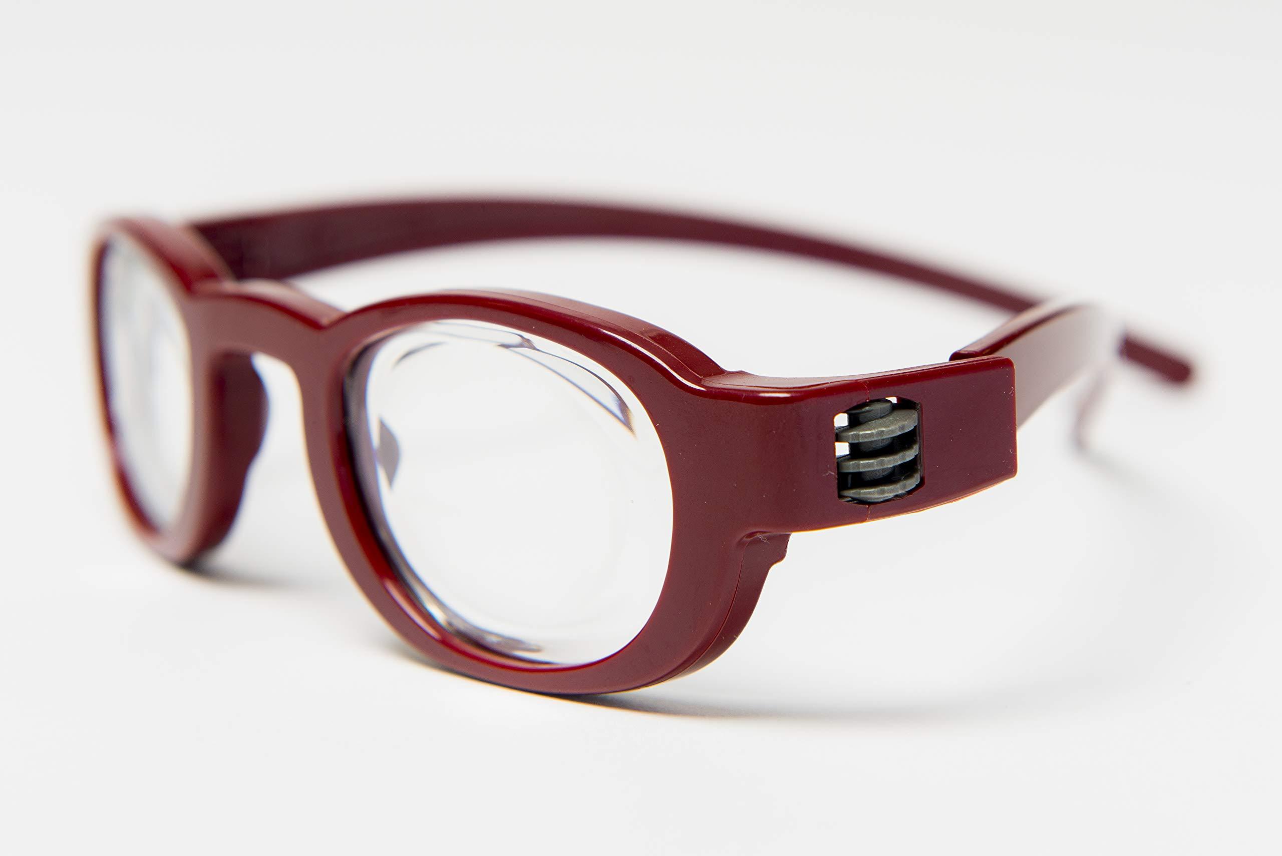 Focus Specs Self Adjusting Red Reading Glasses (+0.5 to +4.5)
