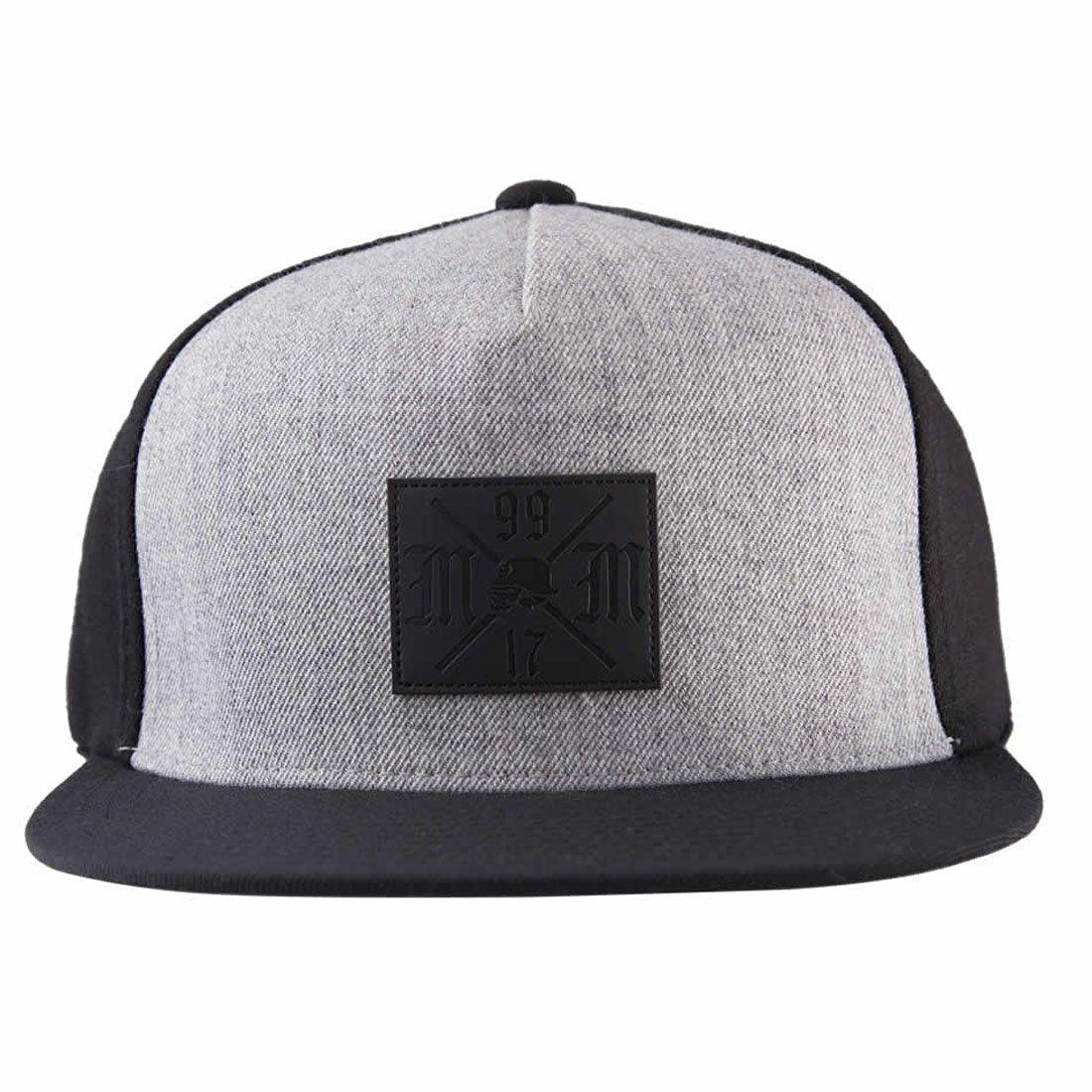 Metal Mulisha Men's Flexfit Logo Baseball Cap Hat MM4759602-BLK-S/M-A