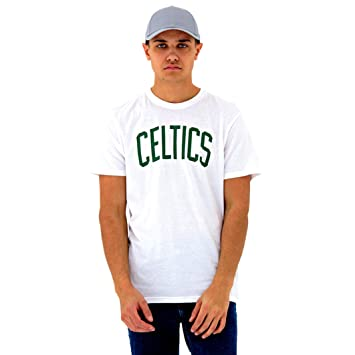 A NEW ERA Era NBA Team Apparel Pop Logo Boscel Camiseta, Unisex niños, Blanco (whi), XS: Amazon.es: Deportes y aire libre