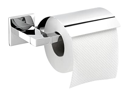 Tiger Toilet Accessoires : Tiger items toilet paper holder with cover  mm