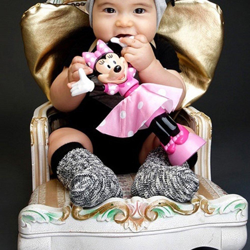 ink2055 Newborn Infant Baby Boy Girl Polka Thick Soft Cotton Socks Winter Leg Warmer