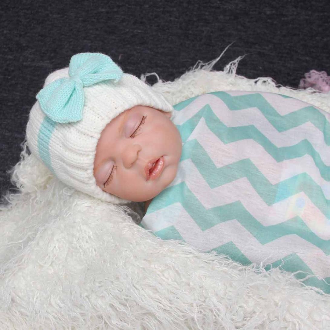 RETUROM Sombreros de beb/é Forme a beb/é reci/én nacido el casquillo hecho punto suave del sombrero del ganchillo de las lanas