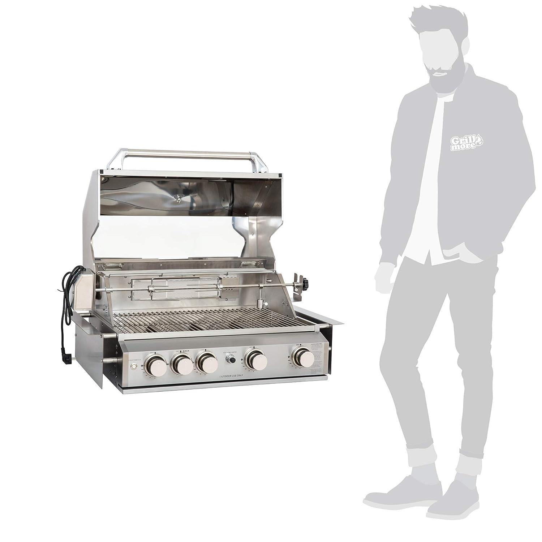 Mayer Barbecue zunda empotrable de gas barbacoa MGG de 240 ...