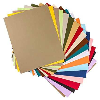 amazon com u s art supply 16x20 20 pack of multi color photo mat