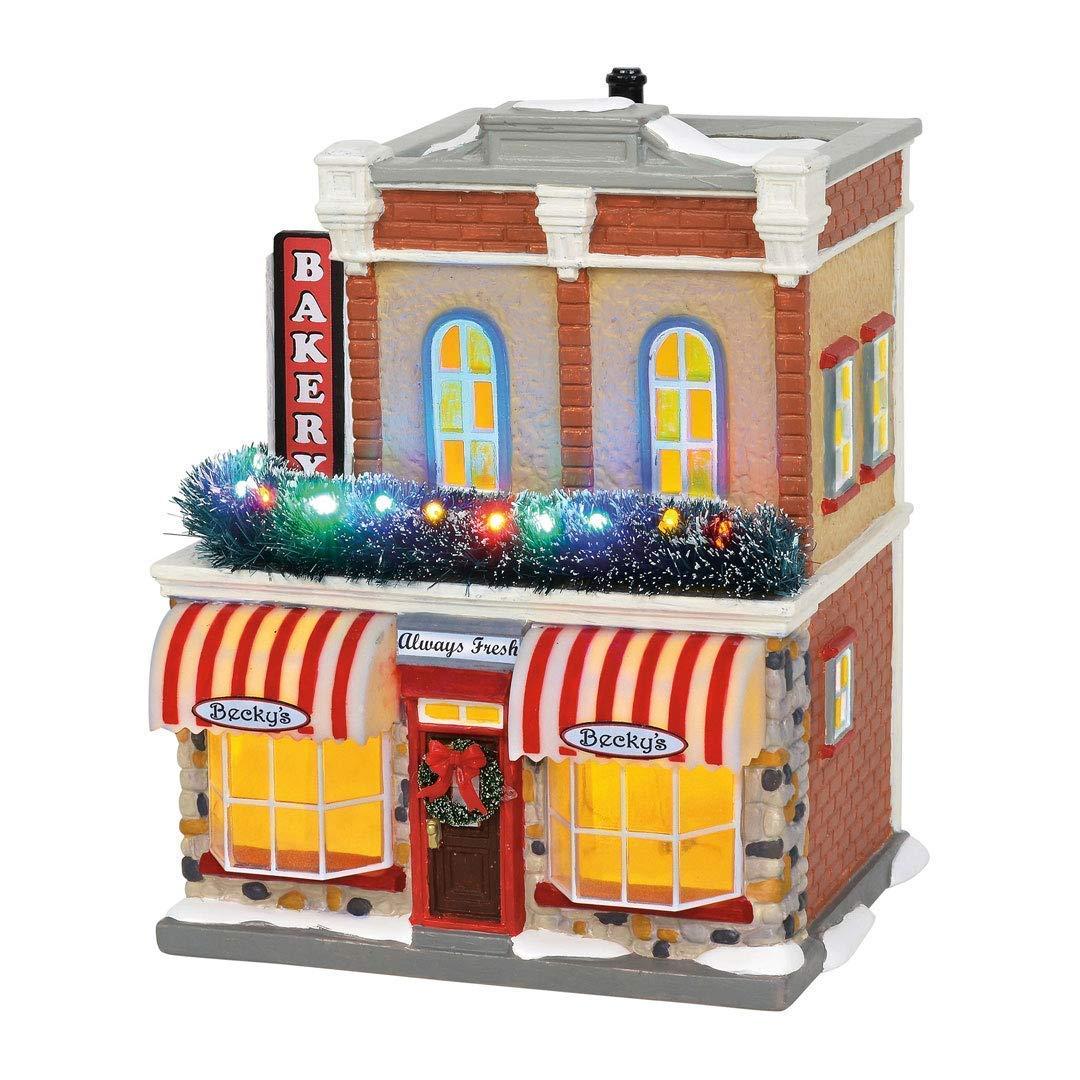 Department56 Department 56 6002297 Original Snow Village, Main Street Bakery by Department56
