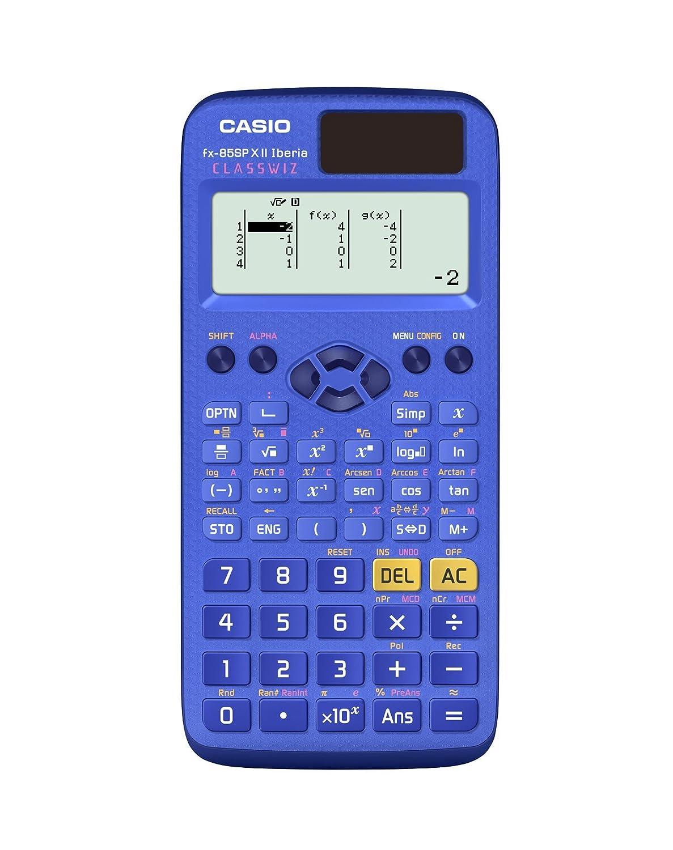 Casio FX-85SPXII-BU-S-EH/ colore: blu /Calcolatrice scientifica 13,8/x 77/x 165.5/mm